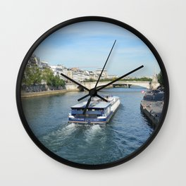 Seine River Wall Clock