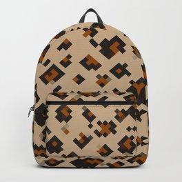 Pixelated Leopard Backpack