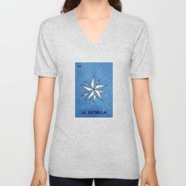 La Estrella Unisex V-Neck