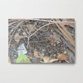 Camouflaged Metal Print