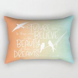 Beauty of Dreams - sunset colors Rectangular Pillow