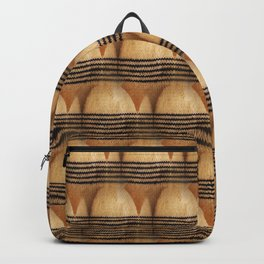 Knit pattern of sock toes Backpack