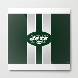 NY jets club Metal Print