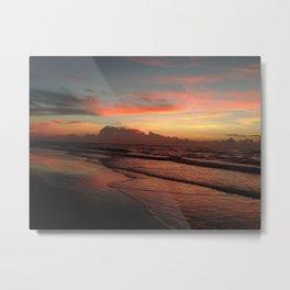 Sunrise on Ocracoke Island - 6 Metal Print