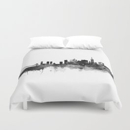 San Francisco Black and White Duvet Cover
