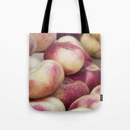 peaches at market Tote Bag