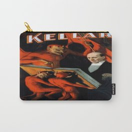 Vintage poster - Kellar the Magician Carry-All Pouch