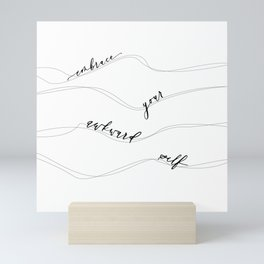 EMBRACE Mini Art Print