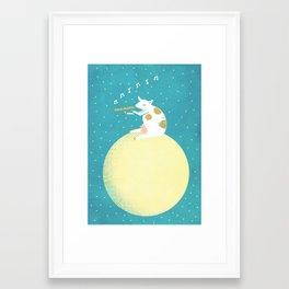 Decided to Stay Framed Art Print