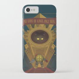 Rapture: No Gods or Kings. Only Man. (BioShock) iPhone Case
