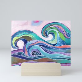 Tribal Wave II Mini Art Print