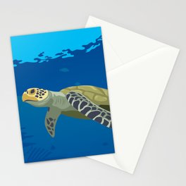 Afternoon swim - paradise series -II- Stationery Cards