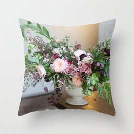 FLOWER DESIGN 10 Throw Pillow
