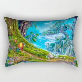 Day Moon Haven Rectangular Pillow