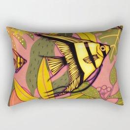 Angel Fish #3 Rectangular Pillow
