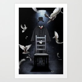 The great illusionist Art Print