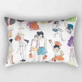 Little Thunder III Rectangular Pillow