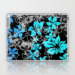 Dancing Hibiscus Hawaiian Aloha Shirt Print Laptop & iPad Skin