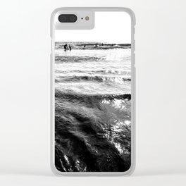 South Ponto Beach Encinitas California Clear iPhone Case