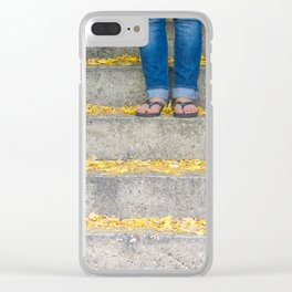Flip Flops Clear iPhone Case