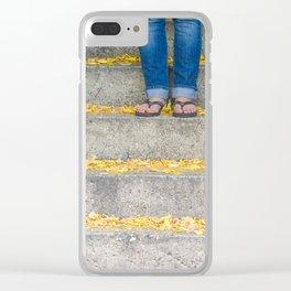 Flip Flops Clear iPhone Case