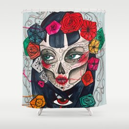 Mexican SK Shower Curtain