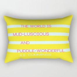 Puddle Wonderful Rectangular Pillow