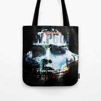 android Tote Bags featuring Android by Studio46