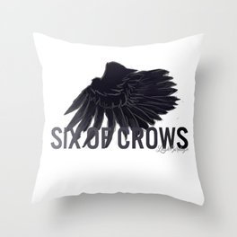 Six Of Crows Throw Pillow