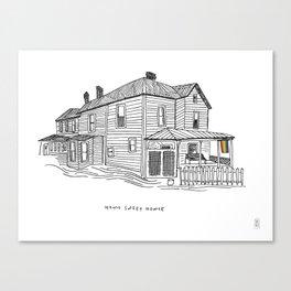 Homo Sweet Homie Canvas Print