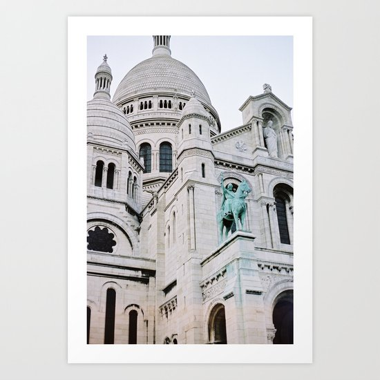 Sacre Coeur - Paris, France Art Print
