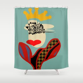 QUEEN OF STYLE Shower Curtain