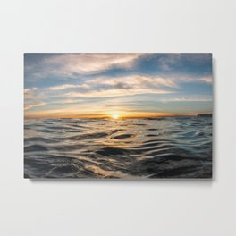 The Rise of Happiness Metal Print
