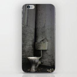 Toilet Trouble iPhone Skin