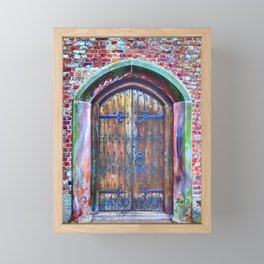 Knock Knock Framed Mini Art Print