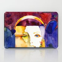 madonna iPad Cases featuring Lady Madonna by Ecsentrik