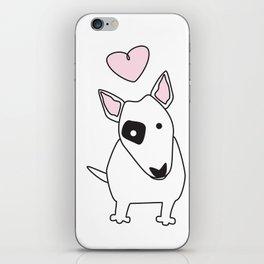 Bullterrier Love iPhone Skin