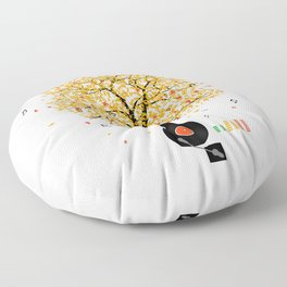 Sounds of Nature Floor Pillow