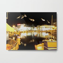 lemnos at night Metal Print