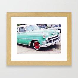 Havana in LA Framed Art Print