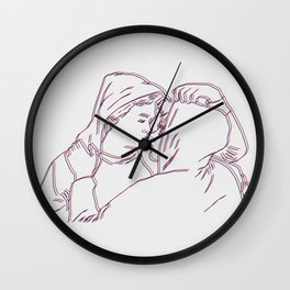 Isak and Even 3D Wall Clock