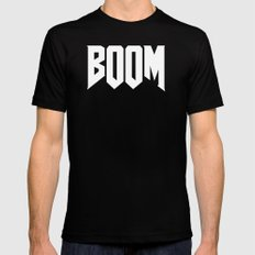 boom {video game novelty}. Mens Fitted Tee Black MEDIUM