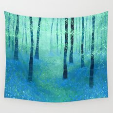 Bluebells, Challock Wall Tapestry