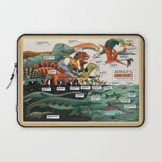 BEHOLD! THE DINOSAURS!  Laptop Sleeve