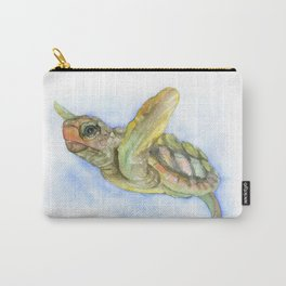 Sea Turtle Watercolor Carry-All Pouch