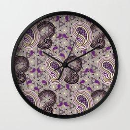 Purpified Wall Clock