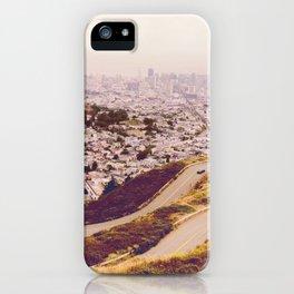 Misty Frisco (San Francisco sous la brume) iPhone Case