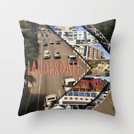 Ft. Lauderdale Throw Pillow