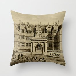 The Pytchley Hunt Throw Pillow