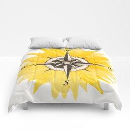 Compass  Sunflower Comforters